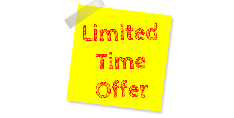 Limited time offer email